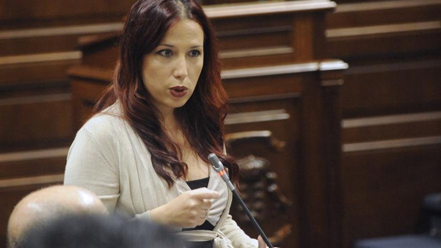 Patricia Hernández, vicepresidenta del Gobierno de Canarias. Foto:CARLOS GONZÁLEZ/EUROPA PRESS