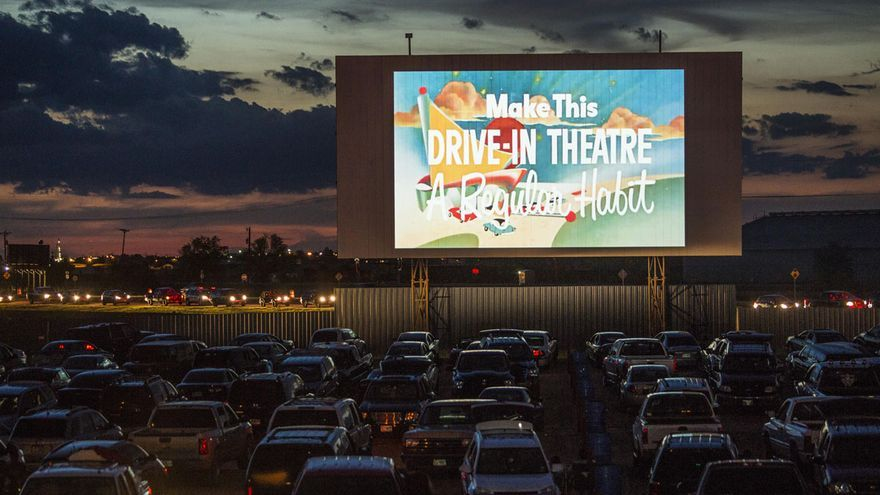 Cine Drive-in norteamericano