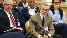 Pablo Crespo y Francisco Correa, durante el juicio de Gürtel.