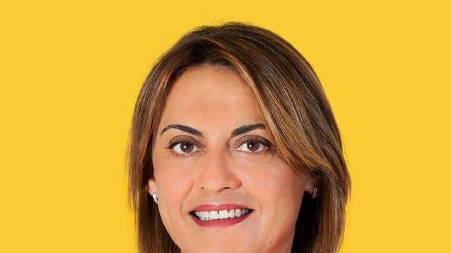 Ángeles Batista, candidata de Unidos Por Gran Canaria al Senado