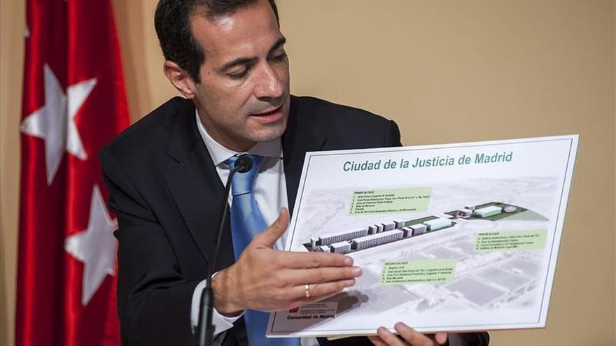 El consejero de Presidencia y Justicia de la Comunidad de Madrid, Salvador Victoria