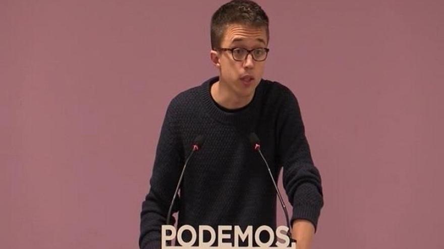 """Errejón apoya la marcha por los presos de Bilbao y cree que """"no hay excusas"""" para defender todos """"los derechos"""""""