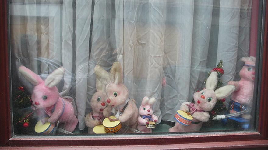 El conejo protagonizó el primer anuncio de pilas en televisión