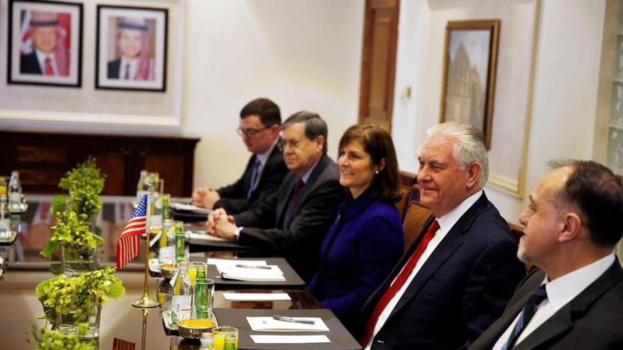 Tillerson reitera su compromiso con proceso de paz entre Israel y palestinos