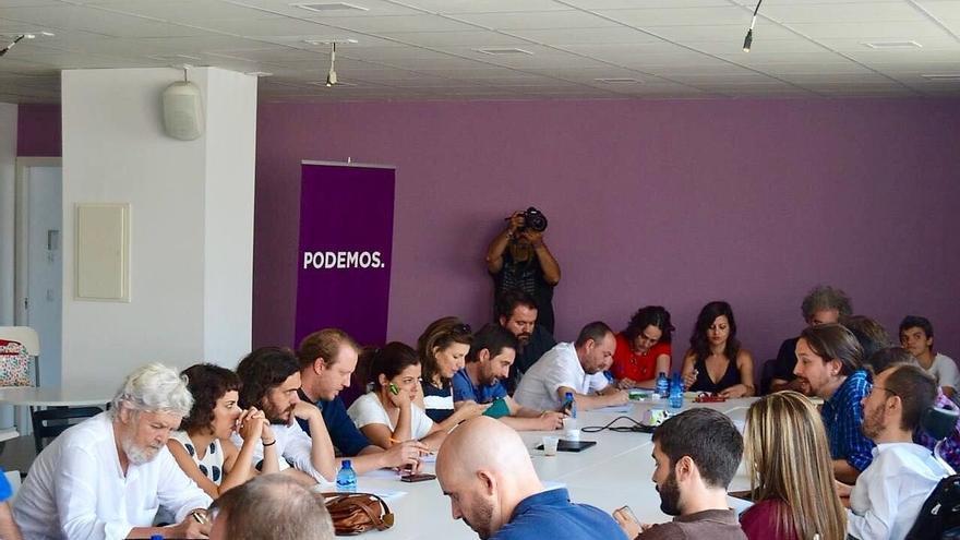 """IU ve provechosa la reunión con Podemos y sus confluencias y cree que se """"consolida el espacio unitario de confluencia"""""""