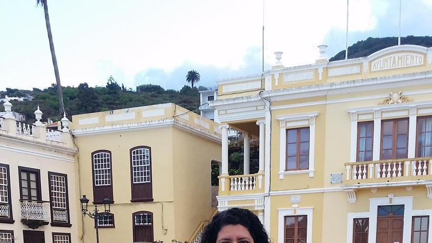 Damaris Ferraz, portavoz del PP en el Ayuntamiento de Villa de Mazo.