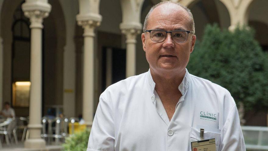 Antoni Trilla, jefe del servicio de Medicina Preventiva y Epidemiología del Hospital Clínic.