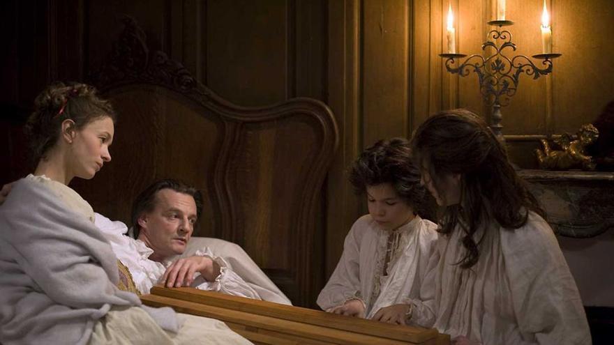 Fotograma de la película sobre Mozart y su hermana
