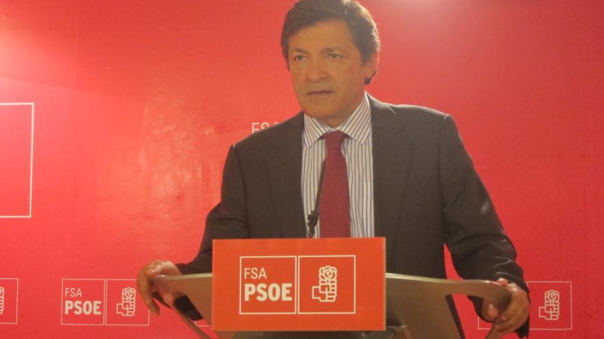 Javier Fernández, reelegido como secretario general del PSOE asturiano