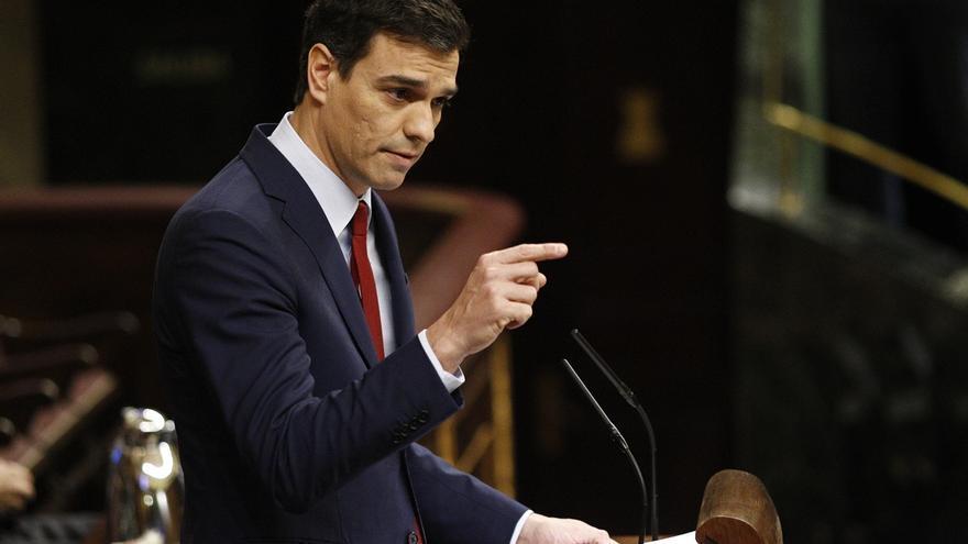 Las menciones a la corrupción y a Andalucía alteran el hemiciclo durante el duelo entre Sánchez y Rajoy