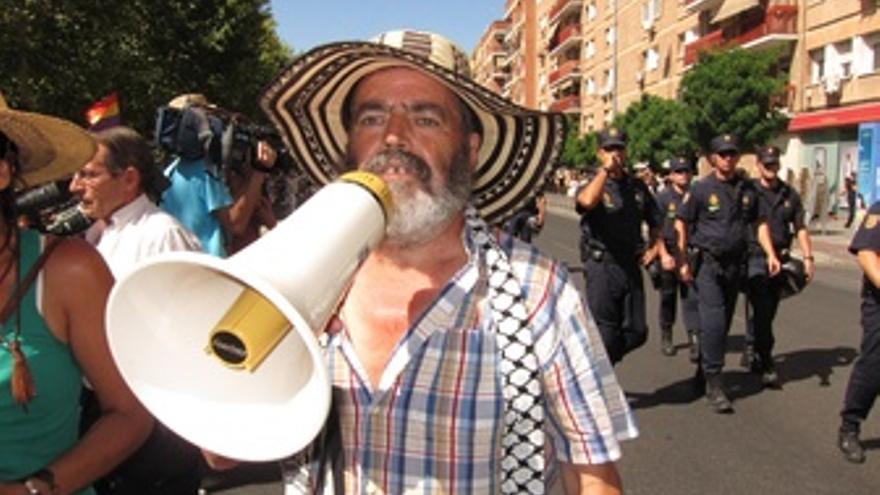 Sánchez Gordillo Con El Altavoz