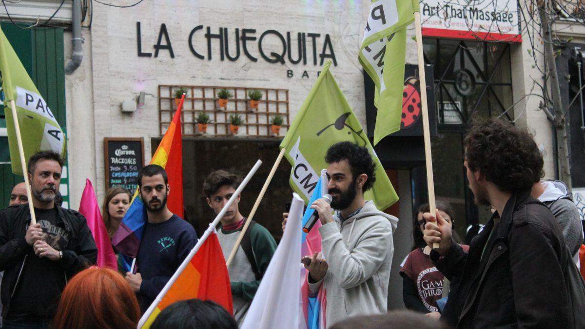 Acto electoral de PACMA en la Plaza de Chueca | SOMOS CHUECA