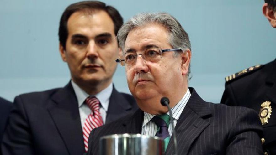 Juan Ignacio Zoido, ex ministro de Interior, y José Antonio Nieto, ex secretario de Estado de Interior.