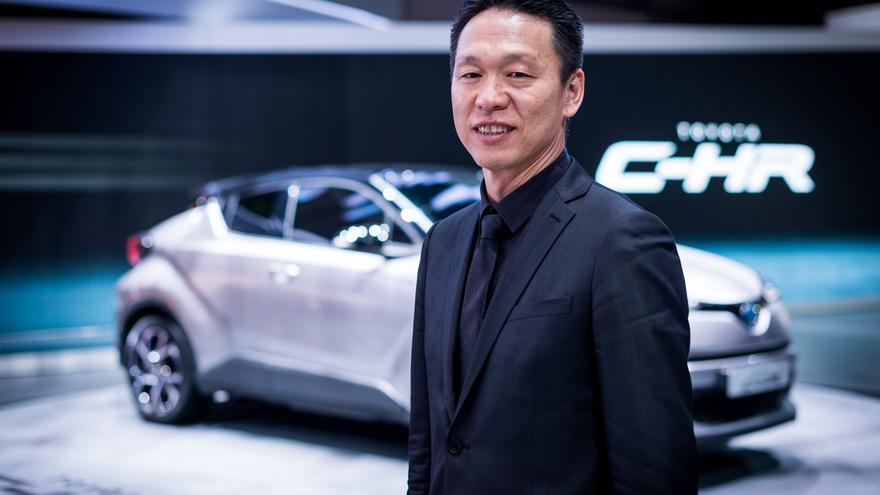 El ingeniero jefe Hiroyuki Koba.