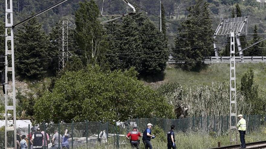 Muere una niña atropellada por un tren en Navarra