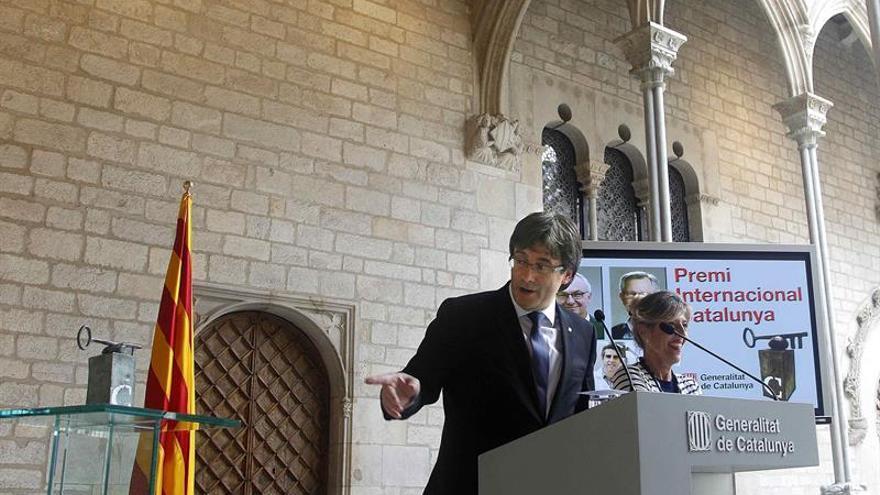 Los doctores Joan Massagué, Josep Baselga y Manel Esteller, Premio Catalunya