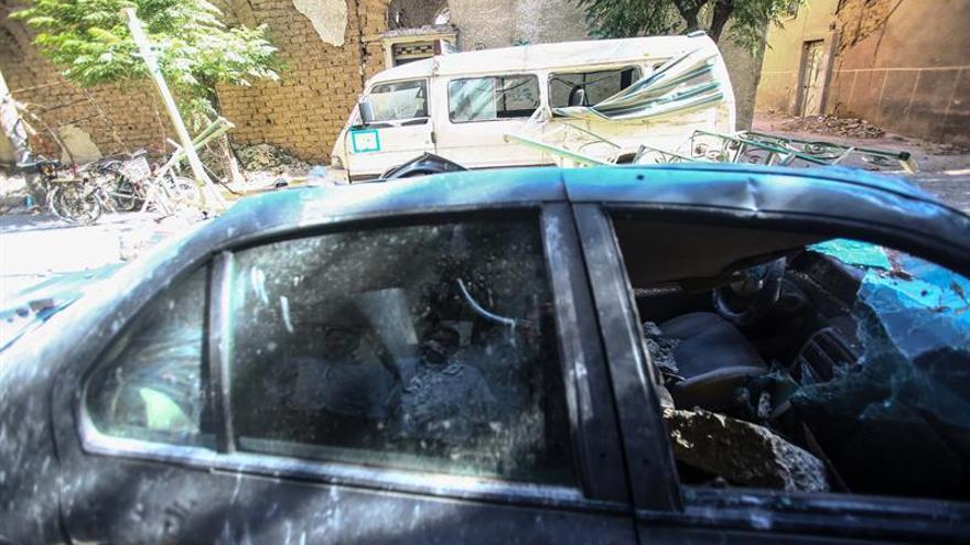 Sube a 10 el número de civiles muertos en ofensiva a las afueras de Damasco