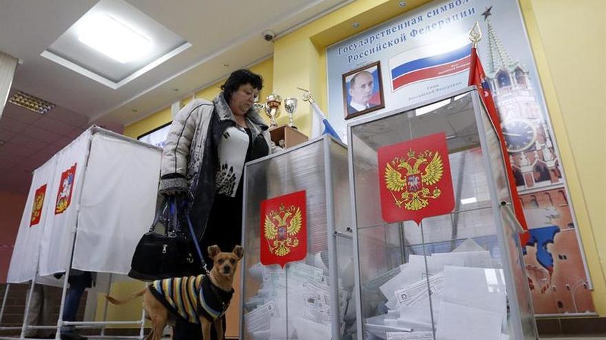 El parlamento ucraniano declara ilegales las elecciones rusas por la votación en Crimea
