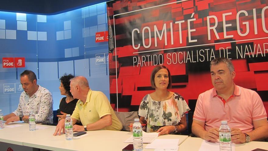 """Chivite cree que el PSOE """"tiene que ir a la oposición"""" y llama a la """"unidad"""" para """"fortalecer el proyecto"""""""
