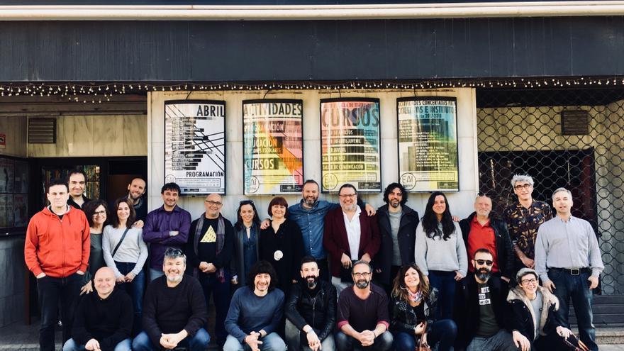 Red de teatros alternativos en su asamblea en Albacete