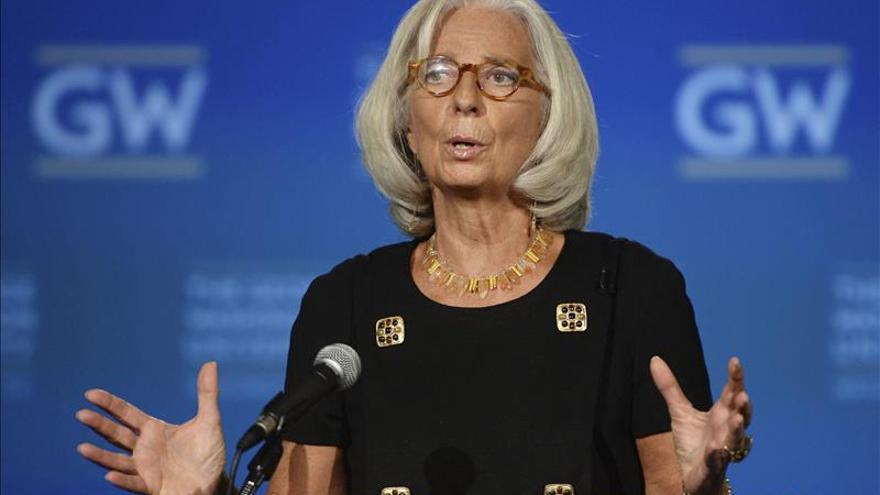 La directora del FMI dice que las economías emergentes están perdiendo ímpetu