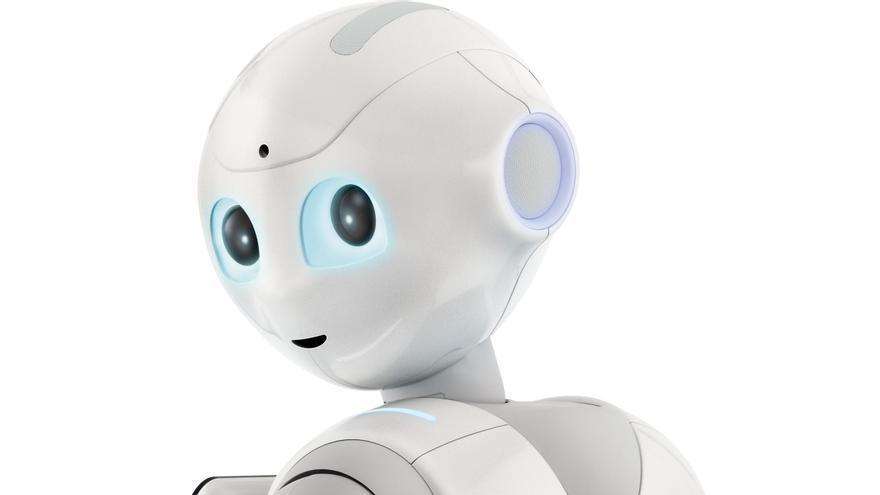 Pepper, el robot que Aldebaran Robotics confirma como neutro (Foto: Aldebaran Robotics)