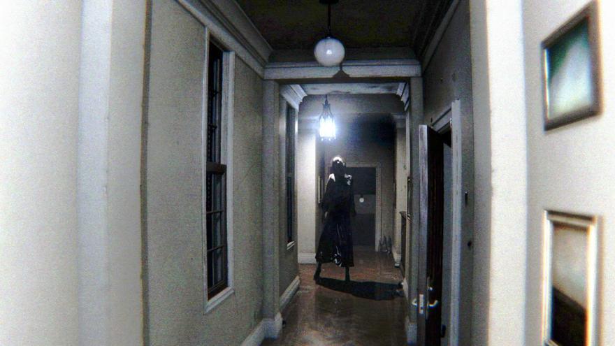 Un captura del videojuego 'P.T.'