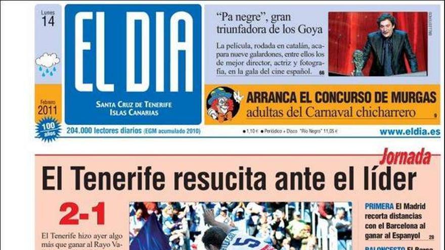 De las portadas del día (14/02/11) #4
