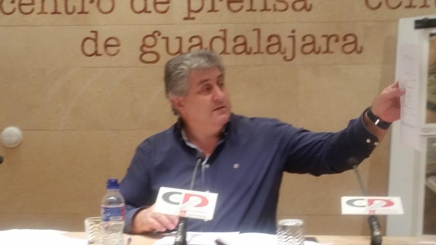 El exalcalde de Chiloeches, César Urrea