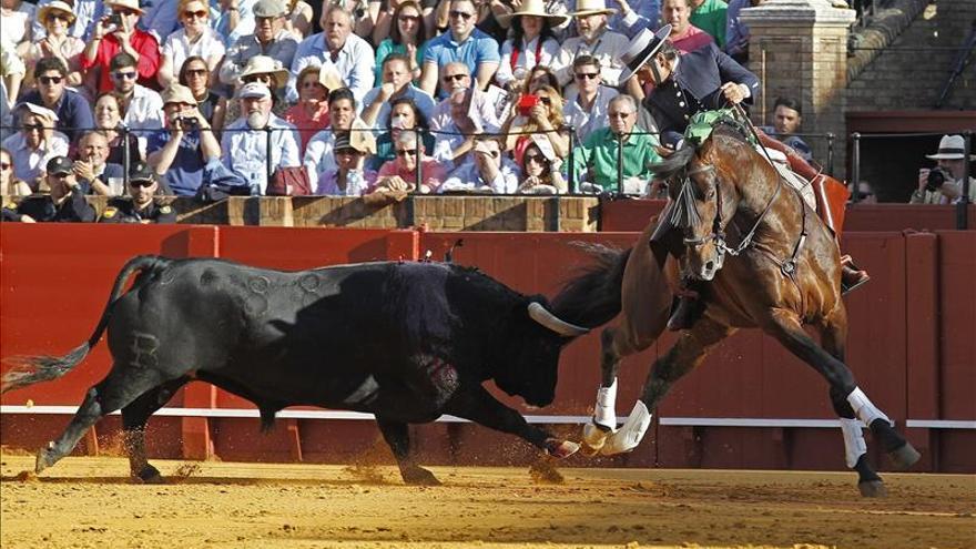 Inmerecida salida por la puerta del príncipe del rejoneador Diego Ventura