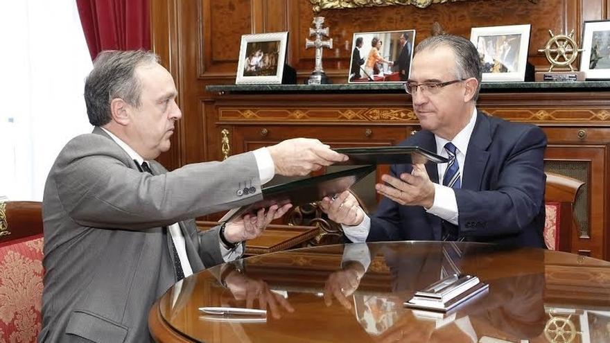 Prorrogado el convenio para la Oficina de Mediación Hipotecaria de Pamplona, que tramita 71 expedientes en 2014
