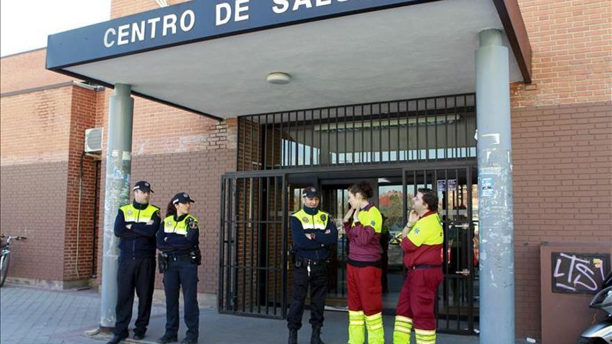 Un centro de salud en Madrid.