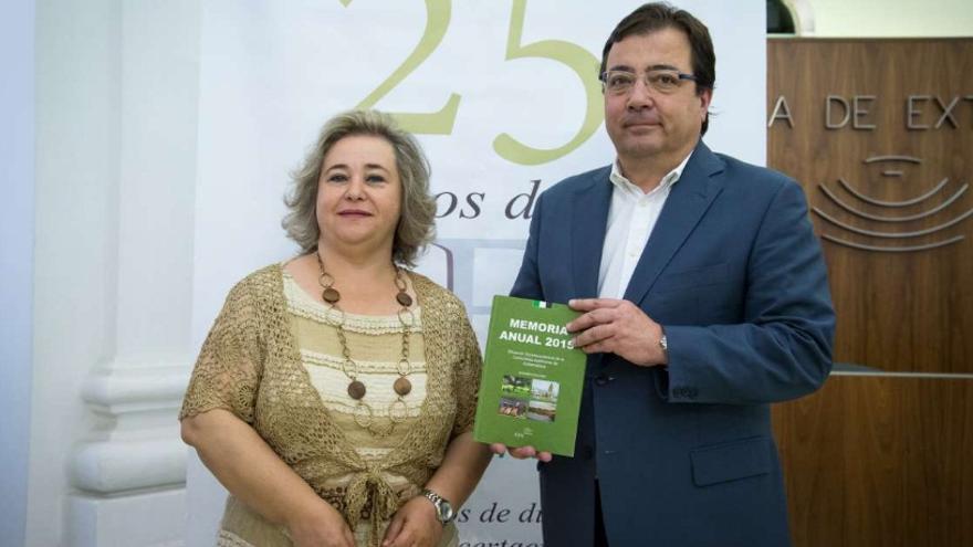 Presentación de la Memoria anual 2015 del Consejo Económico y Social de Extremadura (CES) /Junta