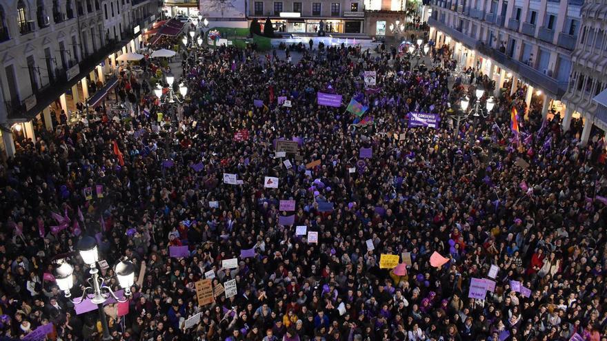 Manifestación Feminista en Ciudad Real