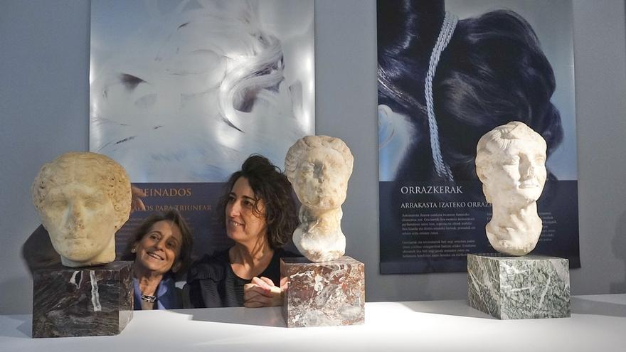 Arkeologi Museoa acoge la exposición 'Historias de tocador', una retrospectiva del cuidado de la imagen personal