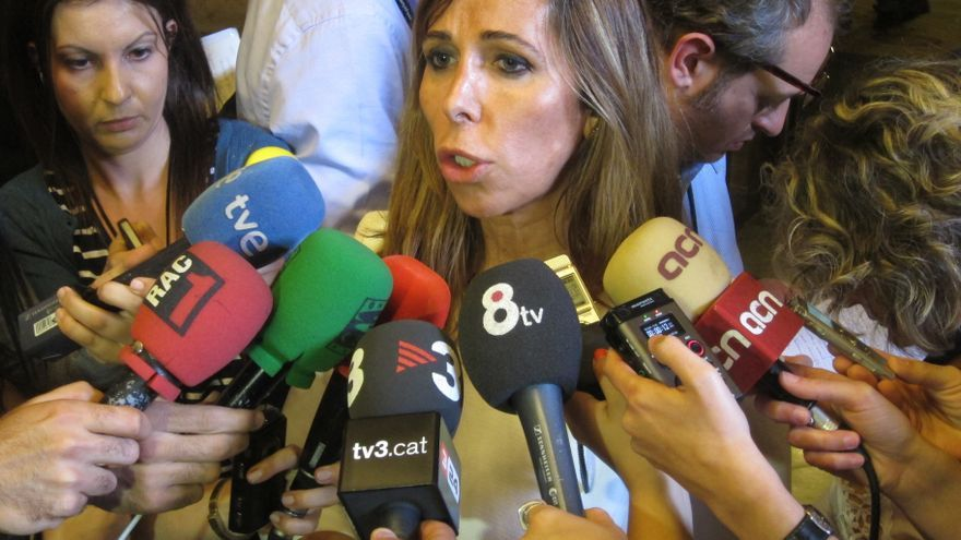 """Alicia Sánchez Camacho avisa de que Mas no ha aparcado la apuesta soberanista y solo busca """"ganar tiempo"""""""