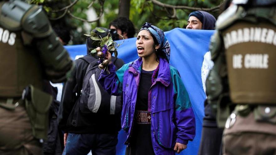 Al menos tres mapuches chilenos en huelga de hambre en apoyo a un chamán preso