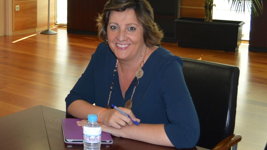 Patricia Franco, en su despacho de la Consejería