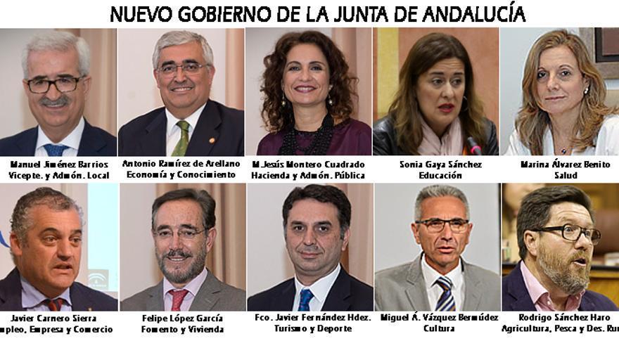 Nuevo Gobierno de la Junta de Andalucía