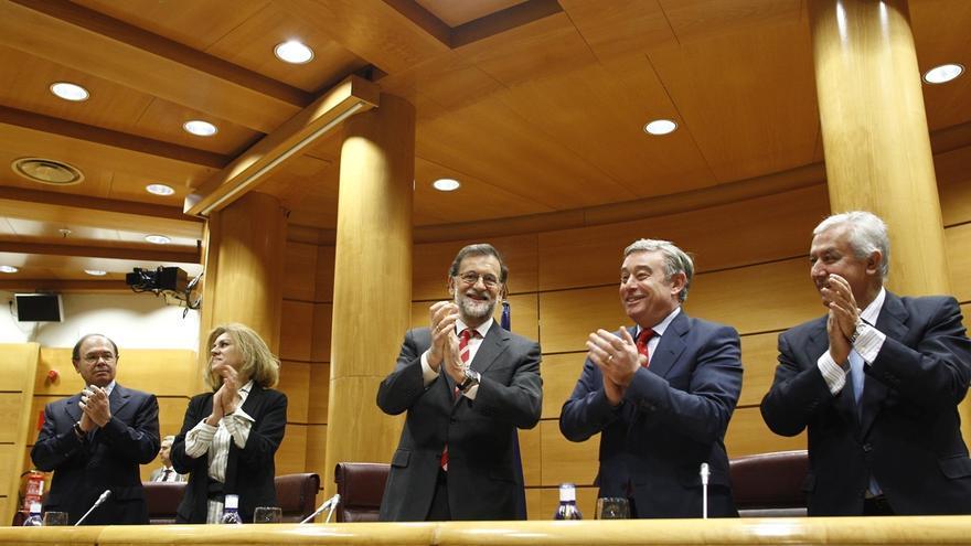 Rajoy presidirá el martes la reunión del PP del Senado, coincidiendo con su regreso a la Cámara Alta