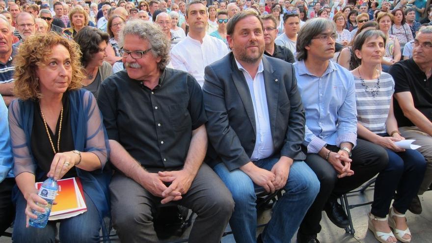 """Junqueras: """"Estas elecciones las ganará ERC afortunadamente para Cataluña"""""""