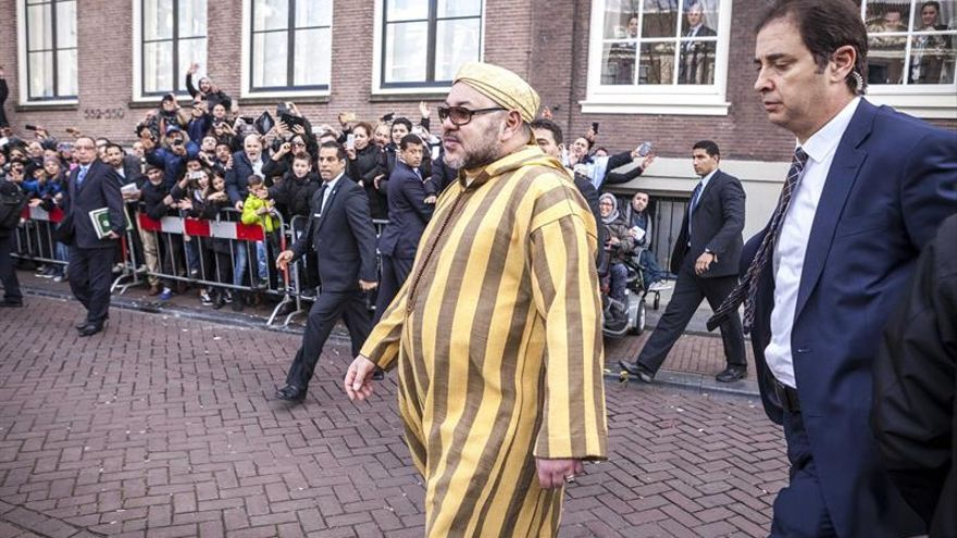 Mohamed VI expresa su solidaridad a François Hollande tras el atentado de Niza