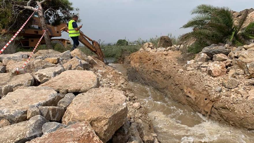 Las actuaciones de la Confederación Hidrográfica del Segura para abrir un segundo canal en el río