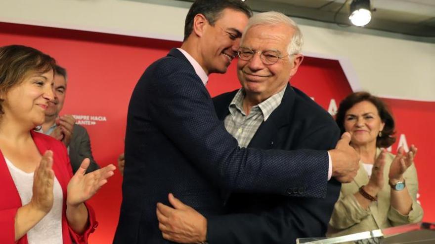 El PSOE gana las elecciones europeas al obtener 20 escaños, 8 más que el PP