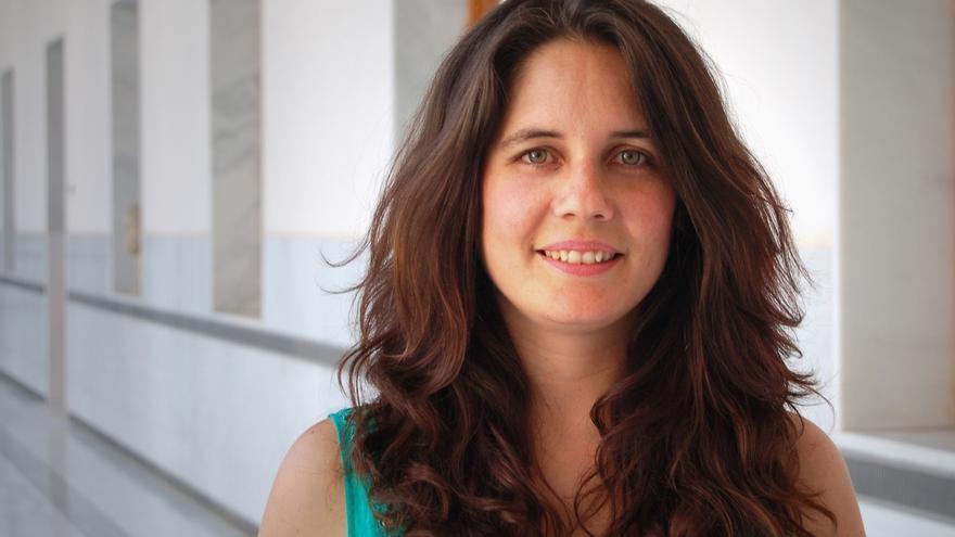 La parlamentaria de IULV-CA Marina Segura, multada por manifestarse en favor de la III República en Morón