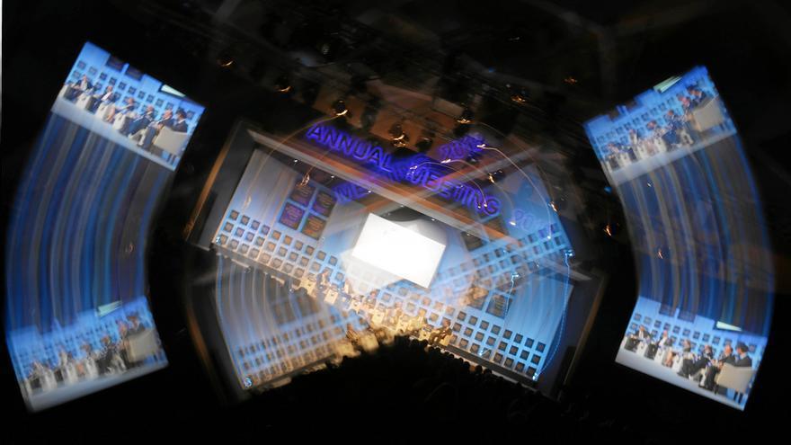Imagen de la reunión de Davos, enero de 2012 © World Economic Forum