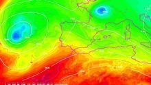 La semana comienza con una DANA al oeste de la Península, a la que le sucederá otra depresión en altura que el jueves empezará a afectar a la Península
