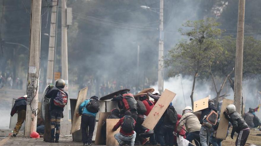 Inicia el diálogo entre indígenas y Gobierno, en medio de protestas en Ecuador