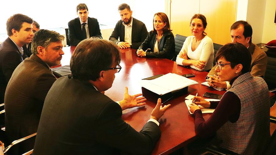 Reunión de la alcaldesa de Puertollano con representantes de Life for Tyres