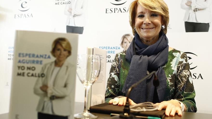 """Aguirre: """"Pedí que en Telemadrid se erradicara la 'telebasura' y que fuera pluralista; ambas cosas se cumplieron"""""""